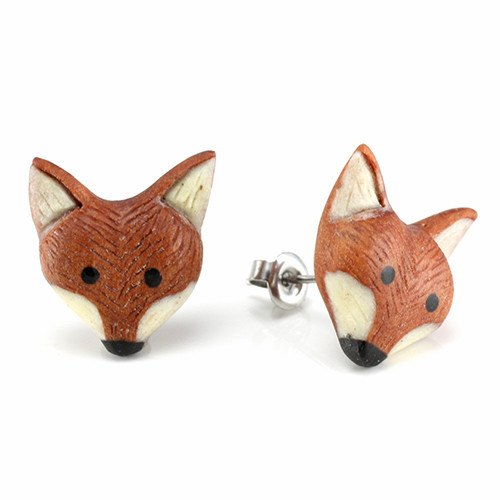 Fox Earrings by Urban Star