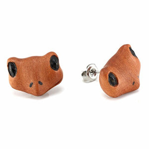 Frog Moji Earrings by Urban Star