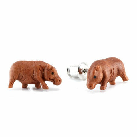 Hippo Earrings by Urban Star