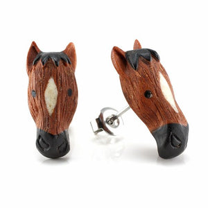Horse Moji Earrings by Urban Star