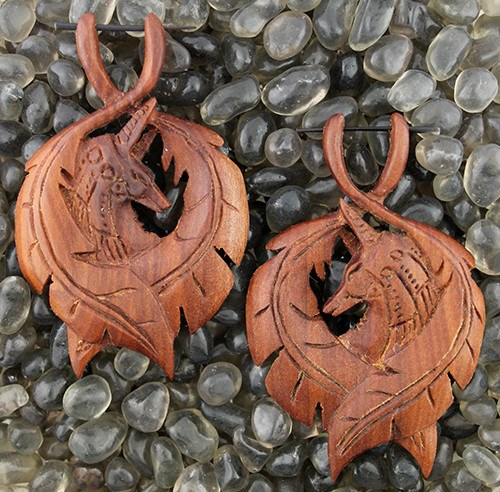 Jackal God Earrings by Urban Star
