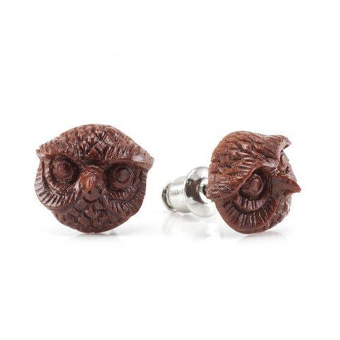 Mr. Owl Earrings by Urban Star