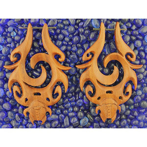 Mystic Scarab Earrings by Urban Star