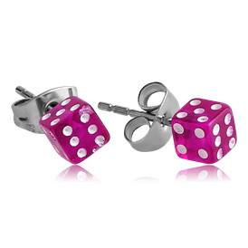 Dice Stud Earrings