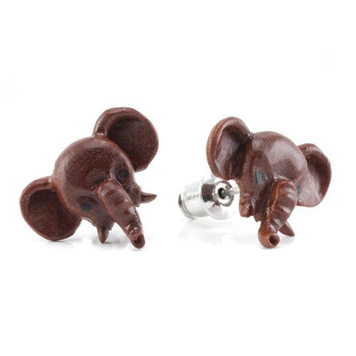 Pet Elephant Earrings by Urban Star Organics