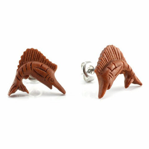 Sailfish Earrings by Urban Star