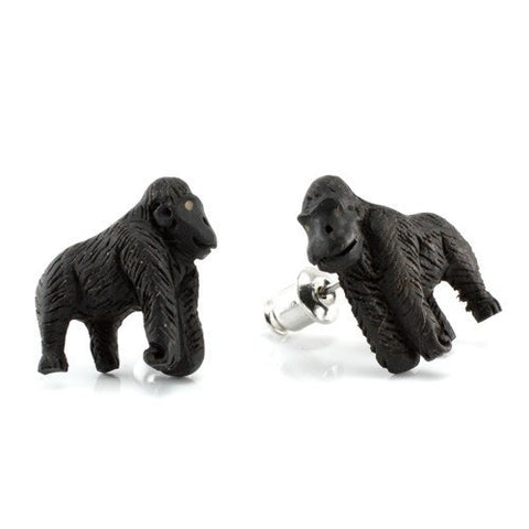 Silverback Earrings by Urban Star