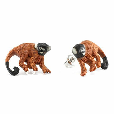 Earrings - Spider Monkey Earrings By Urban Star