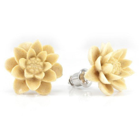 Water Lily Gentawas Earrings by Urban Star
