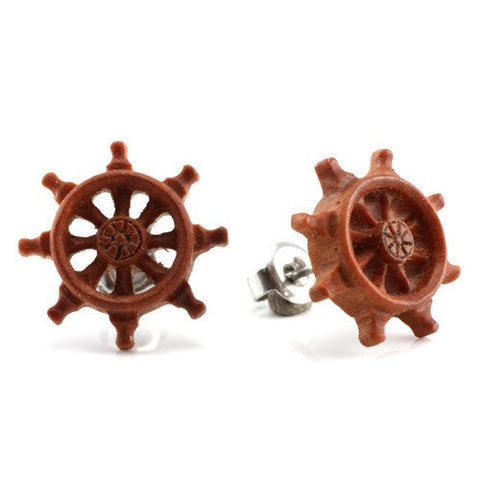 Wheel Earrings by Urban Star