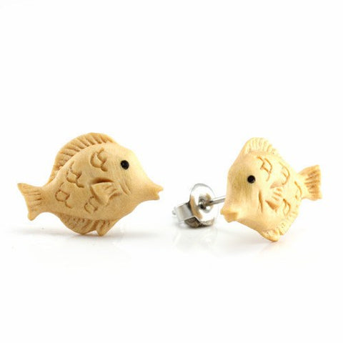 Yellowfish Earrings by Urban Star