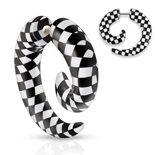 Checkered Fake Spirals