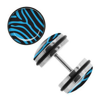 Blue Zebra Fake Plugs