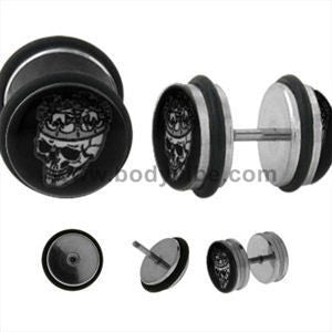 Skull King Fake Plugs