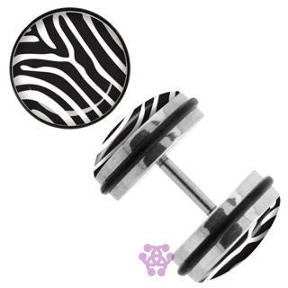 Zebra Fake Plugs
