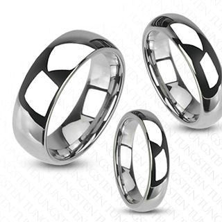 Finger Rings - 4mm Tungsten Carbide Wedding Band