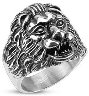 Grave Lion Ring