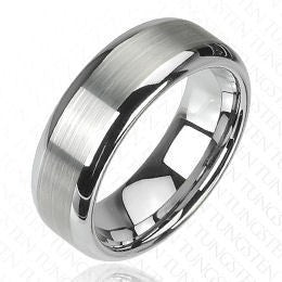 Matte Finish Center Ring