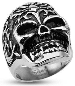 Stainless Power Animal Skull Ring