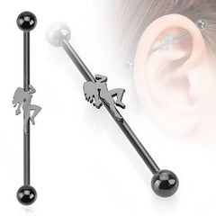 Blackline Pole Dancer Industrial Barbell
