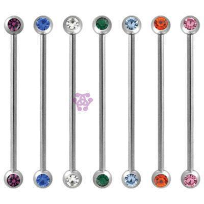 Side CZ Industrial Barbell