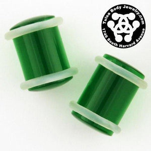 00g Acrylic Straight Plugs by Industrial Strength