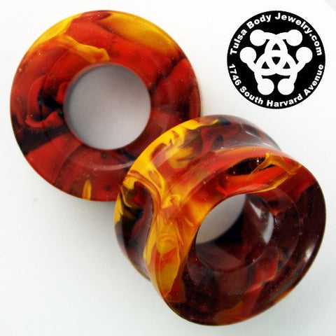 Tangerine & Brown Power Eyes by Gorilla Glass