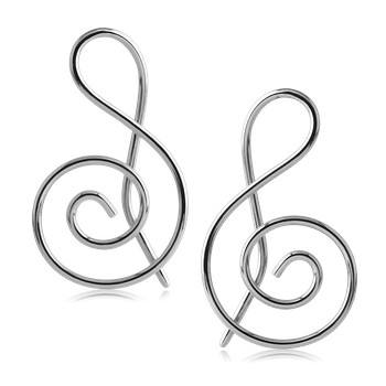 16g Stainless Steel Musical Notes