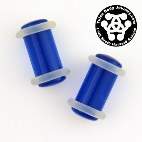 2g Acrylic Straight Plugs by Industrial Strength