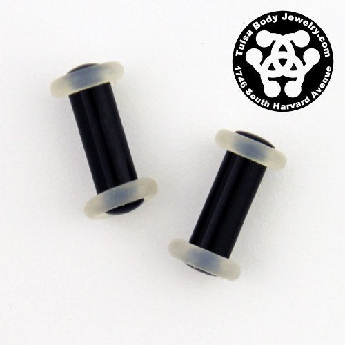 6g Acrylic Straight Plugs by Industrial Strength