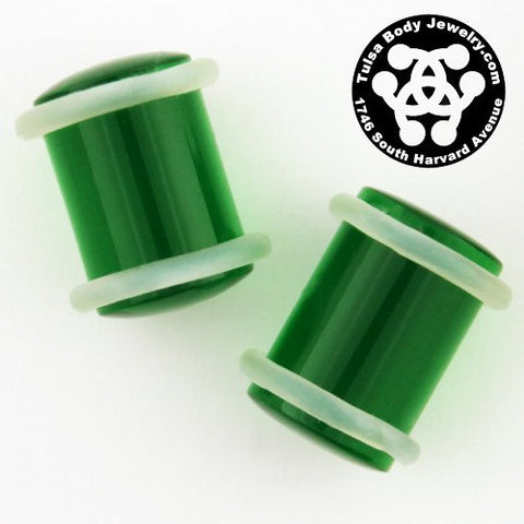 "7/16"" Acrylic Straight Plugs by Industrial Strength"