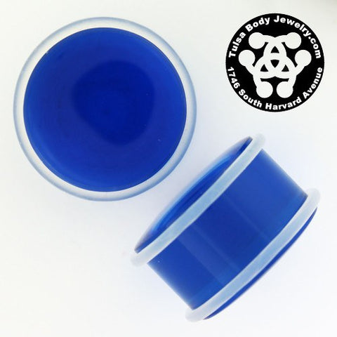 "7/8"" Acrylic Straight Plugs by Industrial Strength"