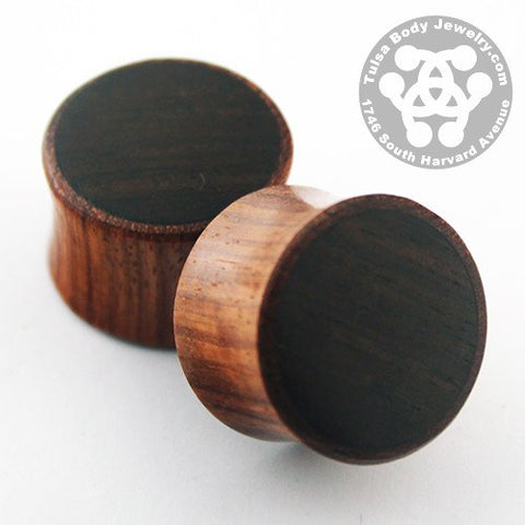 Bloodwood & Dark Raintree Plugs by Siam Organics