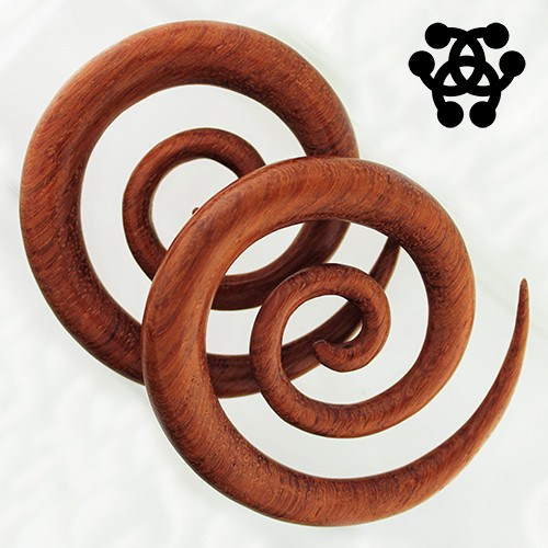 Bloodwood Long Spirals by Siam Organics