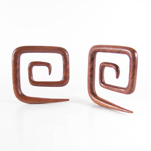 Bloodwood Square Spirals by Siam Organics