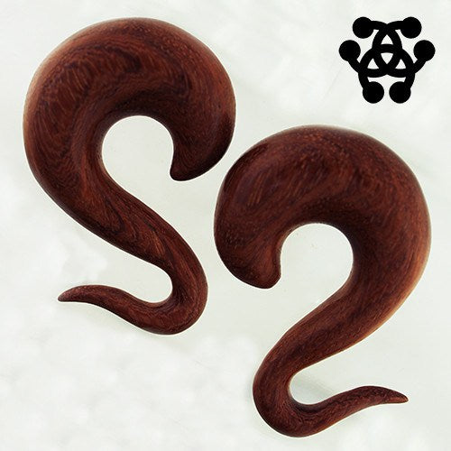 Bloodwood Tapered Hooks by Siam Organics