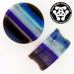 Blue Linear Plugs by Gorilla Glass