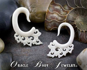 Bone Sway Hangers by Oracle Body Jewelry