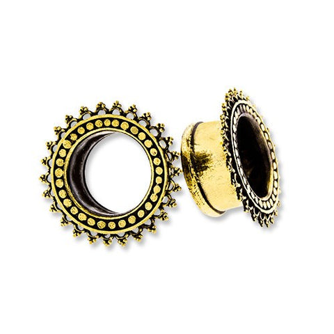 Brass Beaded Tunnels