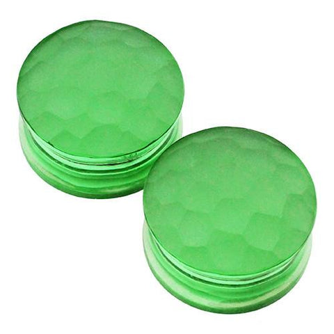 Plugs - Bright Green Martelle Plugs By Gorilla Glass