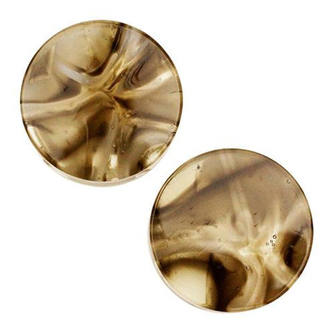 Plugs - Bronze & Ivory Power Plugs By Gorilla Glass