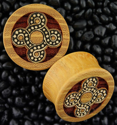 Celtic Knot Plugs by Modifika