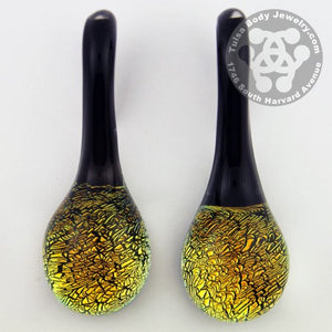 Dichroic Lagrimas by Gorilla Glass