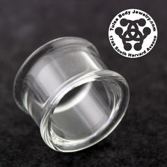 Double Flare Clear Tunnels by Glasswear Studios