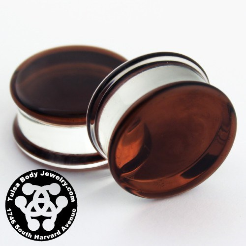 Sienna Double Flare Plugs by Glasswear Studios