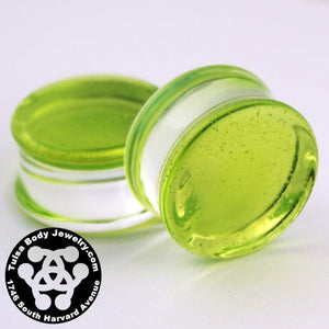 Slime Double Flare Plugs by Glasswear Studios