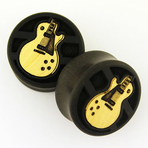 Ebony Guitar Plugs by Modifika