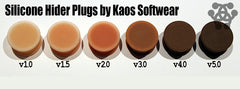 Flesh Tone Hider Plugs by Kaos Softwear