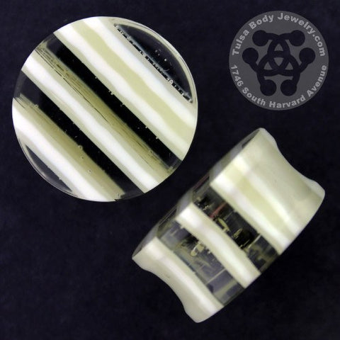 French Vanilla Linear Plugs by Gorilla Glass