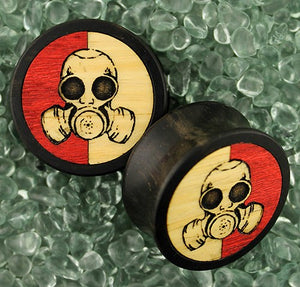 Gas Mask Plugs by Modifika
